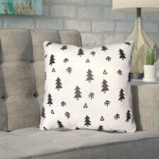 Coder Fir Forest Indoor/Outdoor Throw Pillow