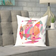 Brockway Fish Outdoor Throw Pillow