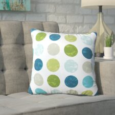 Boardman Dots Indoor/Outdoor Throw Pillow (Set of 2)