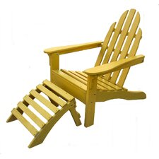 Top Reviews Adirondack Chair and Ottoman Set