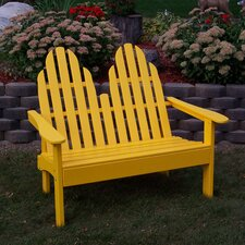 Spacial Price Adirondack Wood Garden Bench