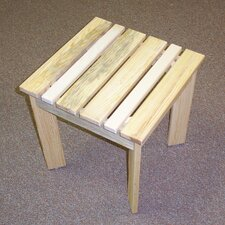 No Copoun Adirondack Side Table