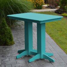 #1 Poly Bar Table