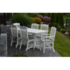 7 Piece Poly Dining Set