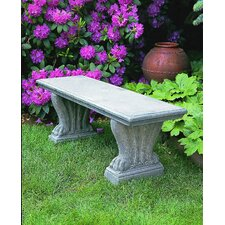 West Chester Cast Stone Garden Bench