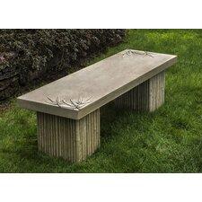 Sagano Cast Stone Garden Bench