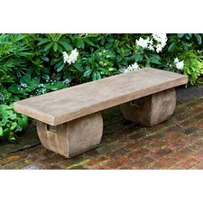 Ryokan Cast stone Garden Bench