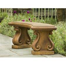 Fontenay Cast Stone Garden Bench