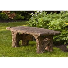 2017 Sale Faux Bois Cast Stone Garden Bench