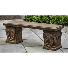 Williamsburg Manor House Cast Stone Garden Bench