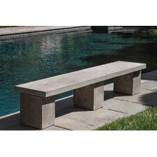 Coupon Biscayne Cast Stone Garden Bench