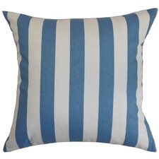 Knotts Indoor/Outdoor Stripes Cotton Throw Pillow