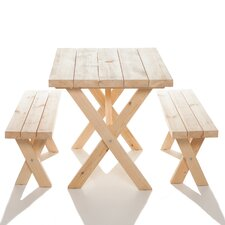 Yazoo Cross Leg Cedar Picnic Table