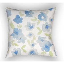 Bramhall Floral Indoor/Outdoor Throw Pillow