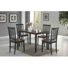 Holcomb 5 Piece Dining Set