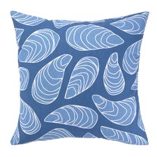 Mussels Indoor / Outdoor Throw Pillow