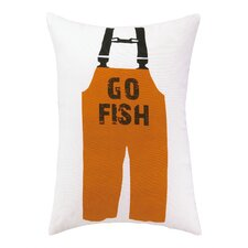 Best Choices Go Fish Indoor / Outdoor Lumbar Pillow