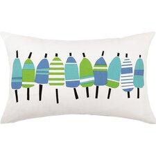 Buoys Outdoor Lumbar Pillow