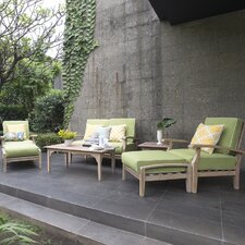Monterey 7 Piece Lounge Seating Group with Cushion