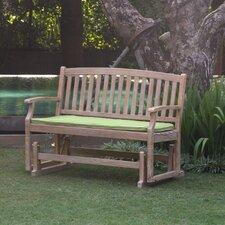 Monterey Teak Glider Garden Bench