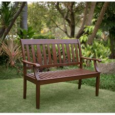 Great Reviews Como Wood Garden Bench