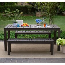 Alfresco 3 Piece Dining Set