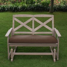 Porto Glider Bench with Cushion