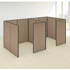 ProPanel 2 Person Closed Cubicle Configuration