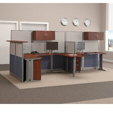 Office in an Hour U-Shape Desk