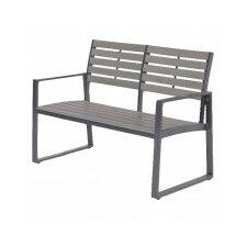 Detroit 2 Seater Aluminium Garden Bench