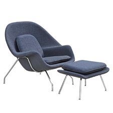 Woom Arm Chair and Ottoman