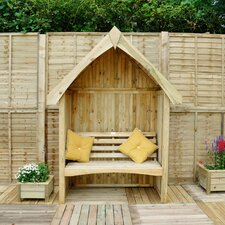 Limoge 2 Seater Wooden Arbour