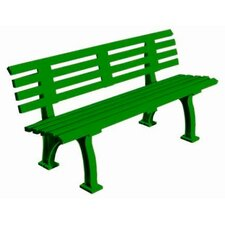 Courtside Plastic Park Bench