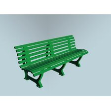 Deluxe Courtside Park Bench