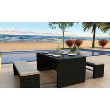 Skyline 3 Piece Dining Set