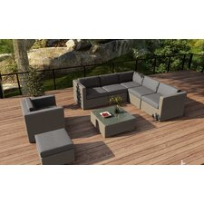 Element 8 Piece Lounge Seating Group with Cushion