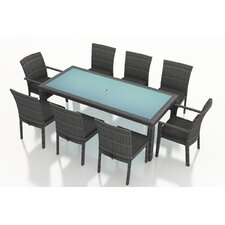District 9 Piece Dining Set with Cushions