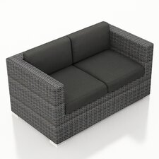 District Loveseat with Cushions