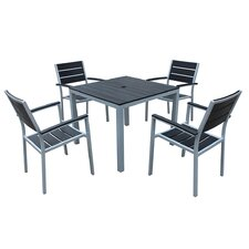 Reviews Brasserie 5 Piece Dining Set