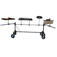 Mobile Percussion Rack with Swing Arms