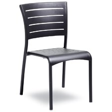 Treviso Stacking Dining Side Chair (Set of 2)