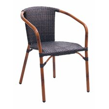 Cafe Stacking Dining Arm Chair