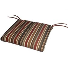 Waterfall Outdoor Sunbrella Dining Chair Cushion