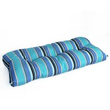 Wicker Outdoor Sunbrella Settee Cushion