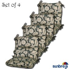 Outdoor Sunbrella Chair Cushion (Set of 4)