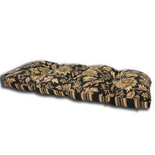 Melinda Midnight Outdoor Loveseat Cushion