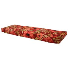 Best Choices Chili Tropical Blossom Outdoor Bench Cushion