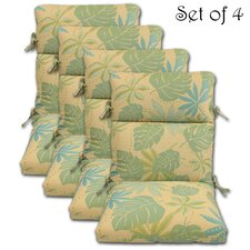 Geobella Outdoor Chair Cushion (Set of 4)