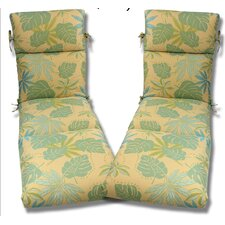 Geobella Outdoor Chaise Cushion (Set of 2)