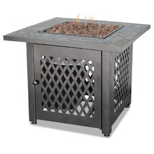 Sale Uniflame Slate LP Gas Outdoor Fire Pit Table